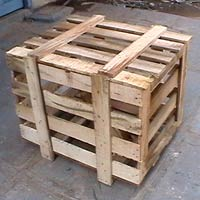 Wooden Packaging Crates - 01